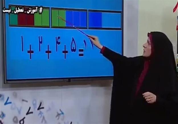 جدول زمانی مدرسه تلویزیونی چهارشنبه ۲۴ دی