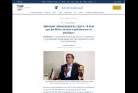 دکتر احمدینژاد در مصاحبه با فیگارو: جو بایدن باید سیاستهای خود در برابر ایران را بصراحت اعلام کند