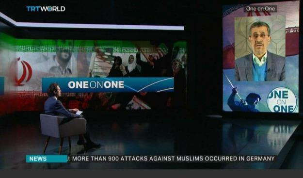 دکتر احمدی نژاد: ایران و  آمریکا می توانند تقابل 40 ساله را به تعامل و همکاری مبدل کنند