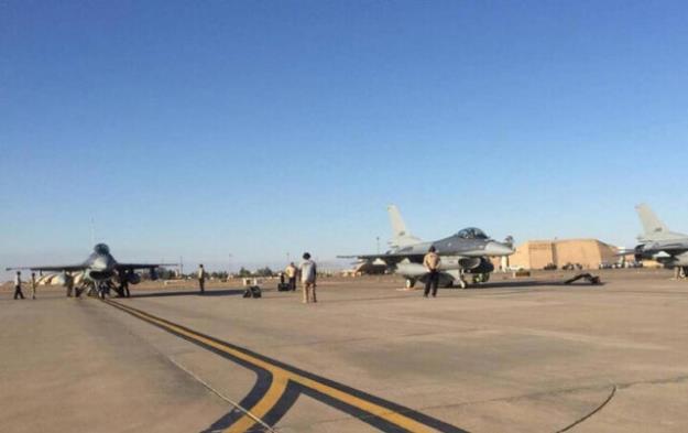 اصابت ۳ راکت به پایگاه هوایی 'بلد' در صلاح الدین عراق