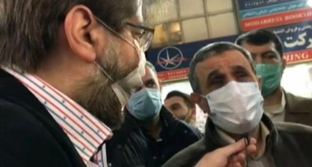 دکتر احمدی نژاد: اظهارات آقای حداد عادل سخن دشمن بود/ مثل کوه استوار خواهم ایستاد + فیلم