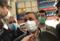 دکتر احمدینژاد: این آقا رسماً از انتخابات افتضاح و حداقلی مجلس بعنوان یک الگوی موفق معرفی می کند!