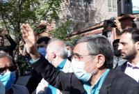 تصاویر حاشیه برگزاری جشن نیمه شعبان در میدان ۷۲ نارمک با حضور دکتر احمدی نژاد