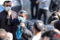 تصاویر کانال دکتر احمدی نژاد از برگزاری جشن مردمی نیمه شعبان در میدان ۷۲ نارمک