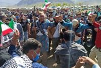 استقبال بهاری از دکتر احمدی نژاد در دشت سیلاخور، روستای کلنگانه استان لرستان