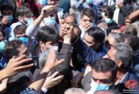 تصاویر کانال دکتر احمدی نژاد از حضور و سخنرانی ایشان در آئین مردمی بزرگداشت وکیل الرعایا