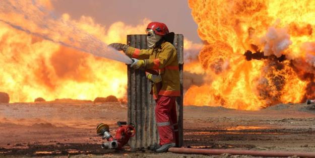 منابع عراقی: داعش یک چاه نفت را در شمال عراق منفجر کرد