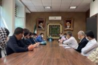 دیدار جمعی از دانشجویان و کارکنان علوم پزشکی با دکتر احمدینژاد