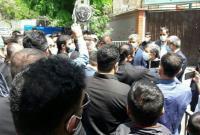 دیدار و گفتگوی جمعی از رزمی کاران با دکتر احمدینژاد در میدان ۷۲ نارمک
