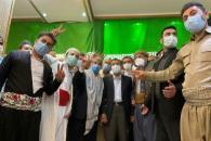دیدار جمعی از اقوام ایرانی با دکتر احمدی نژاد