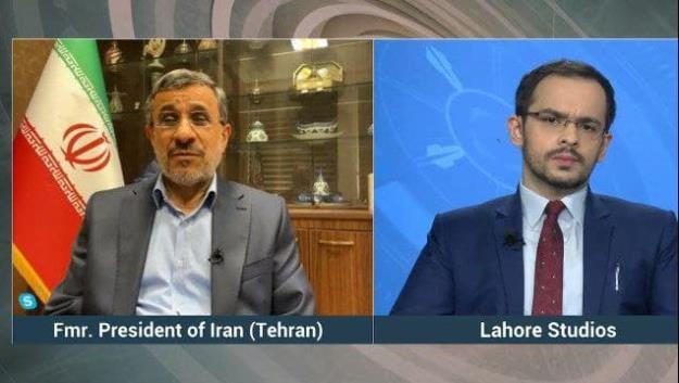 متن مصاحبه شبکه تلویزیونی ایندوس پاکستان با دکتر احمدی نژاد + فیلم