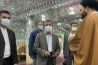 حضور دکتر احمدی نژاد در امامزاده صالح(ع)