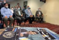 مراسم رونمایی از کتاب درآمدی بر نظریه مردمی انقلابی 'مدیریت ایرانی' با حضور دکتر احمدینژاد