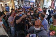 حضور دکتر احمدی نژاد در حرم مطهر امامزاده زید (ع) و بازار تهران