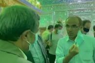پاسخ دکتر احمدینژاد به پرسش خبرنگار دیلی تلگراف در بازار تهران