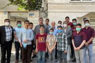 دیدار اعضا و کودکان خیریه خانه مهدی (عج) با دکتر احمدینژاد
