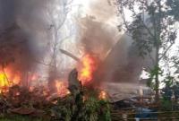 سقوط هواپیمای نظامی فیلیپین با 92 سرنشین/ دستکم 17 تن کشته شدند