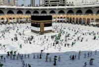 نوای لبیک اللهم لبیک در مسجدالحرام پیچید/آغاز حج تمتع ۱۴۴۲ + عکس
