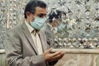 حضور دکتر احمدینژاد در آرامستان ابن بابویه