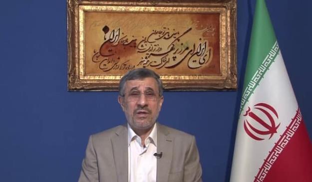 پیام تصویری دکتر احمدی نژاد درباره تهديد يك مقام ارشد امنيتي + فیلم