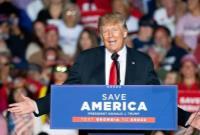 اولین گردهمایی انتخاباتی ترامپ در ایالت آیووا