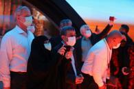 بازدید دکتر احمدینژاد از پاویون مصر در اکسپوی دوبی