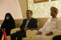 بازدید دکتر احمدینژاد از پاویون عمان در اکسپوی دوبی