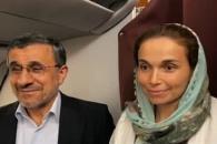 ابراز محبت مسافران پرواز دبی - تهران به دکتر احمدینژاد