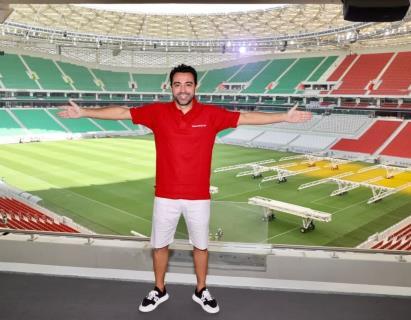 ژاوی: در دوران فوتبالم جوی مانند استادیوم آزادی را ندیدهام