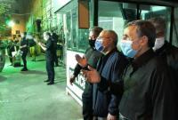 حضور دکتر احمدینژاد در مراسم عزاداری شب تاسوعای میدان ۷۲ نارمک + فیلم و تصاویر