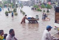 سیلاب بیسابقه در پاکستان با ۲۲۰ قربانی و صدها تَن مصدوم