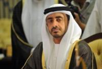 وزیر خارجه امارات به آمریکا میرود