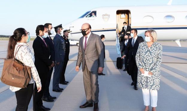 وزیر خارجه بحرین و نتانیاهو برای امضای توافق سازش وارد واشنگتن شدند