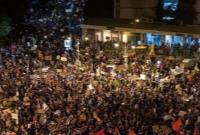بزرگترین تظاهرات مقابل اقامتگاه نتانیاهو