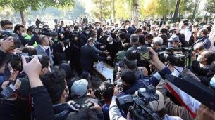 مراسم خاکسپاری پیکر استاد محمدرضا شجریان