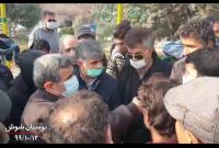 حضور دکتر احمدینژاد در بوستان شوش تهران