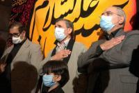 حضور دکتر احمدینژاد در مراسم عزاداری حرم امامزاده صالح(ع) + فیلم و تصاویر