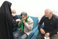 حضور دکتر احمدینژاد در منزل شهید حمیدرضا بازیان + فیلم و تصاویر
