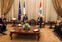 تهدید رئیس جمهور فرانسه به تحریم مقامات لبنان