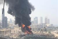 مشخص شدن علت آتشسوزی جدید در اسکله بیروت
