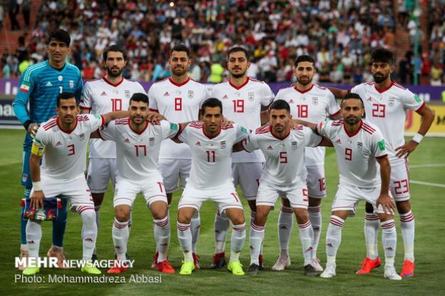 صعود ۳ پلهای تیم ملی فوتبال ایران در رده بندی جهانی