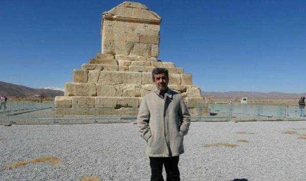 دکتر احمدینژاد: فرمان کوروش افتخار بشریت است + فیلم
