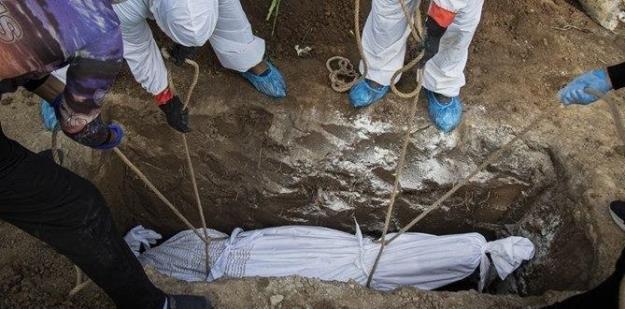 دفن ۲۳۴ بیمار مبتلا به کرونا طی دو روز گذشته در بهشتزهرا(س)